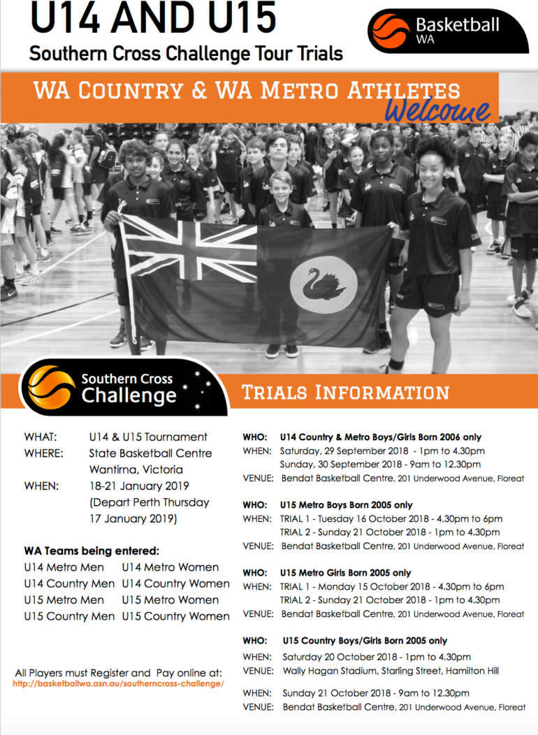 2019 WA Southern Cross Challenge Trials